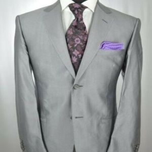 VERSACE Modern 2Btn Suit 40 R + Ted Baker Tie